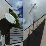 Επίγεια & Δορυφορική εγκατάσταση στον Άγιο Στέφανο